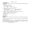 18 Đề kiểm tra 1 tiết Hóa 8 - Hidro-Oxi-Không khí