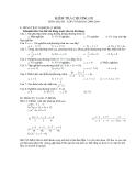 Tổng hợp đề kiểm tra 1 tiết Đại số môn Toán lớp 8
