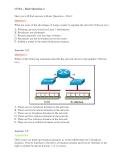 Đề thi chứng chỉ quốc tế nghề cơ bản về công nghệ mạng - Các câu hỏi cơ bản - Đề 2