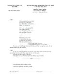 Đề thi học sinh giỏi lớp cấp tỉnh 11 môn Văn