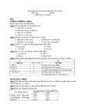 Bài kiểm tra học kì 1 các nước Châu Á 2011 - 2012