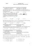 Đề kiểm tra  trắc nghiệm vật lý 8 - Đề 1