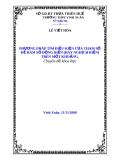 ĐỀ TÀI: PHƯƠNG PHÁP TÌM ĐIỀU KIỆN CỦA THAM SỐ ĐỂ HÀM SỐ ĐỒNG BIẾN (HAY NGHỊCH BIẾN) TRÊN MỘT KHOẢNG