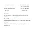 Tổng hợp đề kiểm tra môn Lịch sử lớp 12 năm 2010-2011 - Trường THPT Nông Cống 2 (kèm đáp án)