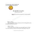 Đề thi olympic truyền thống 30/4 lần thứ 8 Tp.Huế - Đề thi môn văn lớp 11