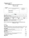 Đề kiểm tra học kì 2 năm 2010-2012 môn địa lí lớp 6 huyện Tuyên Hóa mã đề 01 (có đáp án)