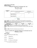 Đề kiểm tra học kì 2 môn địa lí lớp 6 năm 2010-2012 huyện Tuyên Hóa mã đề 02