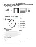 Ôn luyện  bộ đề toán 2
