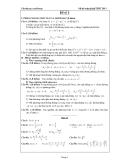 Đề ôn thi tốt nghiệp THPT môn toán năm 2013 đề số 1