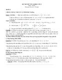Đề thi thử tốt nghiệp môn Toán lớp 12 đề 24