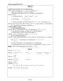 Đề ôn thi tốt nghiệp THPT môn toán năm 2013 đề số 2