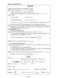 Đề ôn thi tốt nghiệp THPT môn toán năm 2013 đề số 26