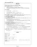 Đề ôn thi tốt nghiệp THPT môn toán năm 2013 đề số 14