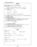 Đề ôn thi tốt nghiệp THPT môn toán năm 2013 đề số 6