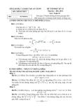 Đề  thi học kì 2 toán 12 sở GD và ĐT An Giảng 2012-2013