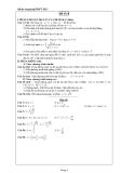 Đề ôn thi tốt nghiệp THPT môn toán năm 2013 đề số 4