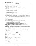 Đề ôn thi tốt nghiệp THPT môn toán năm 2013 đề số 12