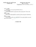 12 Đề kiểm tra 1 tiết Công nghệ 7 (Kèm đáp án)