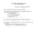 Đề thi và đáp án học sinh giỏi môn công nghệ lớp 9  2011 - 2012