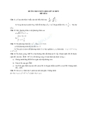 Đề ôn thi tuyển sinh môn toán vào lớp 10 THPT - Đề số 4