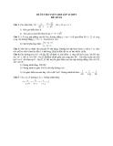 Đề ôn thi tuyển sinh môn toán vào lớp 10 THPT - Đề số 16