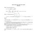 Đề ôn thi tuyển sinh môn toán vào lớp 10 THPT - Đề số 6