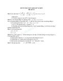 Đề ôn thi tuyển sinh môn toán vào lớp 10 THPT - Đề số 13