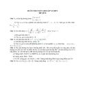 Đề ôn thi tuyển sinh môn toán vào lớp 10 THPT - Đề số 8