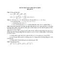 Đề ôn thi tuyển sinh môn toán vào lớp 10 THPT - Đề số 12