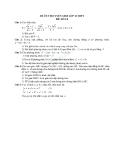 Đề ôn thi tuyển sinh môn toán vào lớp 10 THPT - Đề số 14