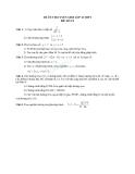 Đề ôn thi tuyển sinh môn toán vào lớp 10 THPT - Đề số 21