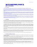 124 bài viết mẫu cho kì thi IELTS task 2(SHORT)