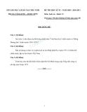 13 Đề thi HK2 môn Lịch sử 12