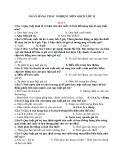 Ngân hàng câu hỏi trắc nghiệm môn giáo dục công dân lớp 11 bài 3