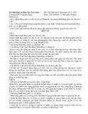 Đề kiểm tra học kỳ 1 môn giáo dục công dân lớp 12 năm 2012- 2013 Trường THPT Nguyễn Đáng đề dự bị