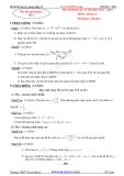 Tổng hợp đề thi học kì 1 môn Toán lớp 12 năm 2011-2012