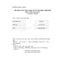 Đề khảo sát chất lượng giữa HK2 Tiếng Việt 1