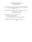 24 Đề kiểm tra HK2 Ngữ Văn 6 năm 2012-2013