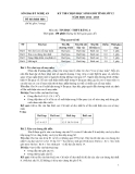 Đề thi chọn học sinh giỏi tỉnh Nghệ An  lớp 12 môn tin học năm 2012 - 2013 Đề thi chính thức