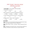10 Đề thi học sinh giỏi lớp 3 môn Toán