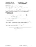 Tổng hợp đề thi học kì 1 môn Toán lớp 12 - Kèm đáp án