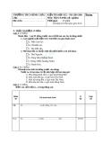 Bài kiểm tra 15 phút học kì 2 Địa lý Việt Nam địa lý 8 thcs Bình Châu
