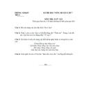 Bộ 5 Đề thi học sinh giỏi môn Ngữ văn lớp 7 - Kèm đáp án
