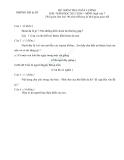 Đề kiểm tra KSCL Ngữ Văn 7 (Hướng dẫn chấm)