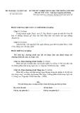 Đề thi tốt nghiệp môn Văn năm 2009 - Hệ Giáo Dục THPT