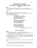 Đề ôn thi tốt nghiệp THPT môn ngữ văn năm 2013 Đề 10