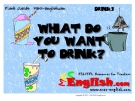 Học từ vựng bằng hình ảnh - What do you want to drink ?