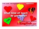Học từ vựng bằng hình ảnh - What kind of heart do you have ?