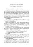 CHƯƠNG I : XU HƯỚNG PHÁT TRIỂN CÔNG NGHỆ TRUYỀN TẢI QUANG