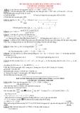 Đề thi học sinh giỏi Toán lớp 6 - Kèm đáp án